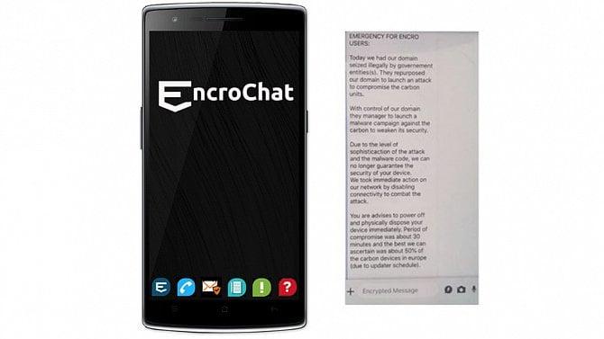 [aktualita] Policie v Evropě hackla šifrované telefony EncroChat, měsíce odposlouchávala zločince