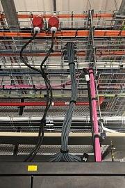 Zakončení optické a metalické infrastruktury v páteřním racku