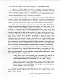 Právní argumentace k odvolání dozorčí komise Rady ČT, která byla přílohou zápisu z jednání 14. července 2010.