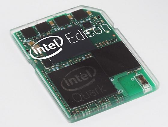 Intel Edison: počítač velikosti SD karty