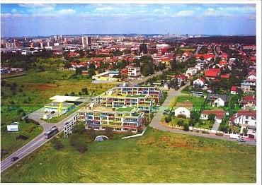 Koupený investiční pozemek společností TESLA investiční společnost v Praze 4. (04/2021)