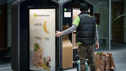 Vitalia.cz: Nákup z Rohlik.cz si vyzvedněte po cestě z práce