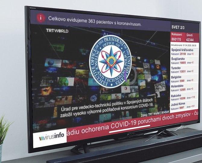 Na Slovensku odstartovala koronavirová televize. Děti se učí se Školským klubem