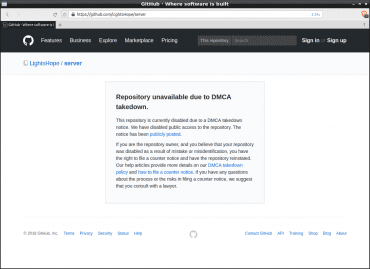 GitHub - Light's Hope - DMCA