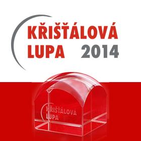 Logo Křišťálová Lupa 2014