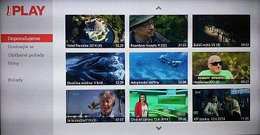 Naprostou novinkou je widget Prima Play. Panasonic je v tomto ohledu momentálně jediný a nějaký čas (prý rok) mu to ještě vydrží.