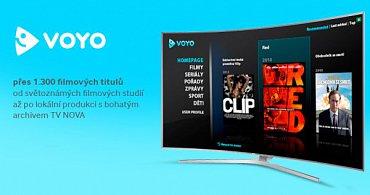 Voyo je široce zastoupené u všech možných značek. Widget pro Voyo.cz inovoval i Gogen a Hyundai. Tento snímek pochází od Samsungu.