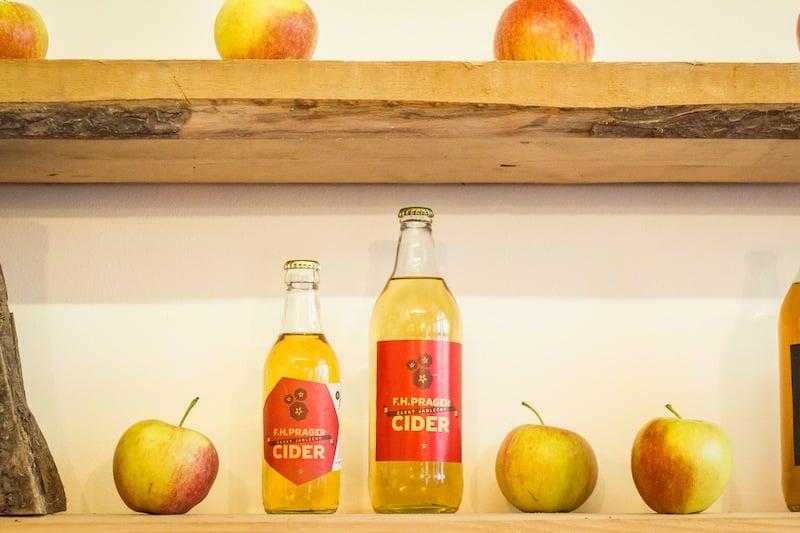 Cidery, nealkoholická piva a limonády od F. H. Pragera