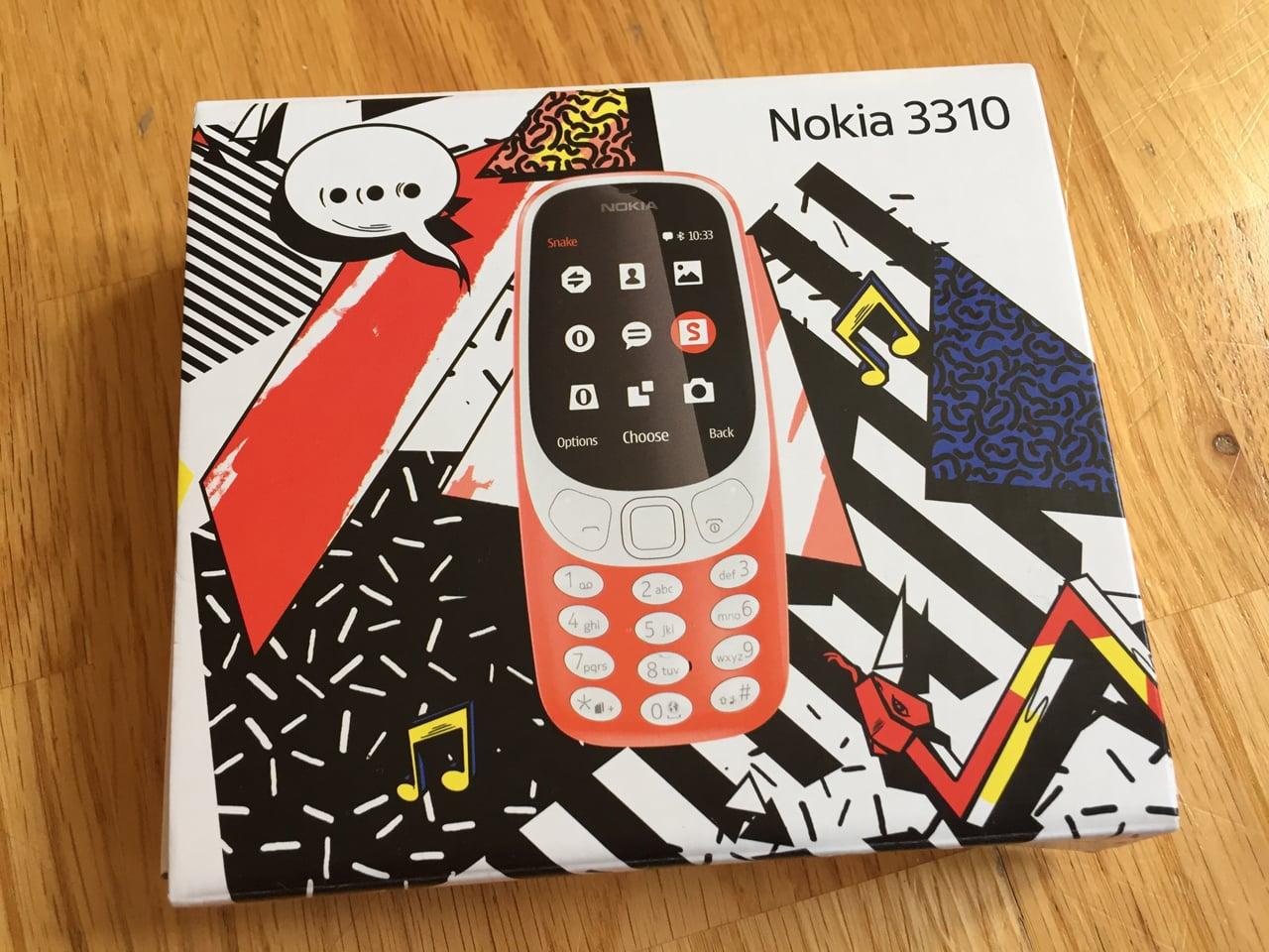 Znovuzrozená Nokia 3310