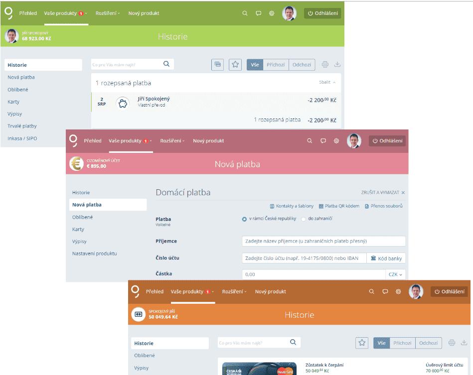 Webové stránky investičního bankéře