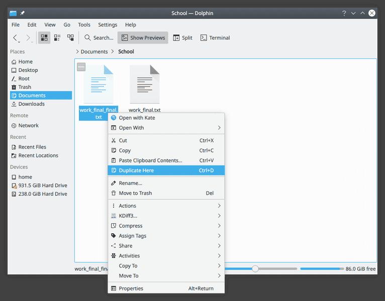 KDE Applications 20.04