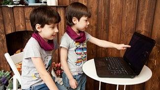 Notebook děti