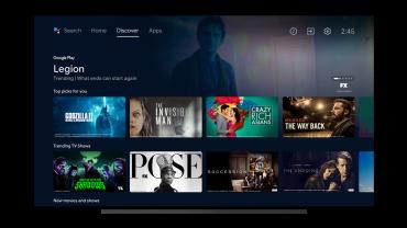 Nový vzhled Android TV, leden 2021