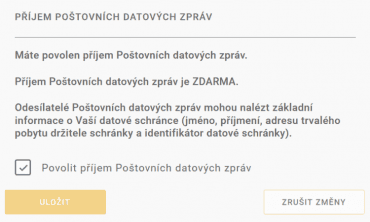 Od 24. března můžete používat Poštovní datové zprávy zdarma. Služba bude zpřístupněna minimálně po dobu trvání nouzového stavu