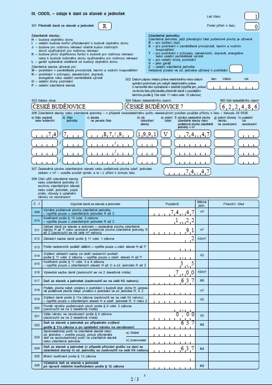 Vyplnění daňového přiznání 2019