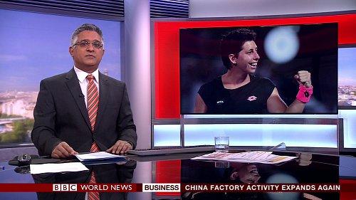 Zpravodajská stanice BBC World News vysílá na satelitní pozici 19,2 stupně východně nově v HD rozlišení