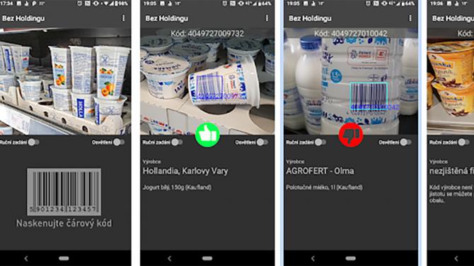[aktualita] Bez Holdingu je nová aplikace pro nákupy v obchodech bez Agrofertu