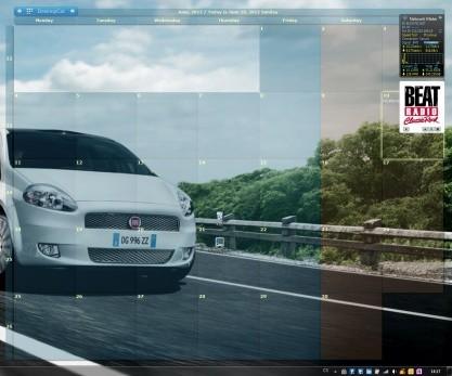 DesktopCal je kalendář na Plochu