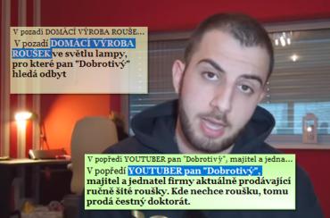 """Mike Pán jako """"Valentin Dobrotivý"""", aneb """"Arogantní Youtuber"""". (03/2020)"""