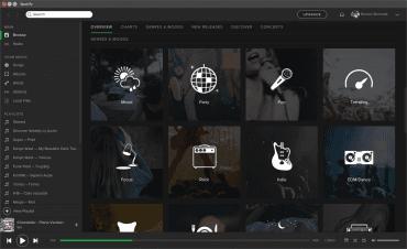 Spotify nabízí i přehrávač pro Linux