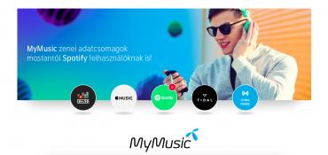Nabídka maďarského Telenoru pro balíček MyMusic