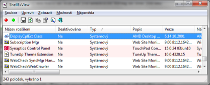 Pomocí ShellExView optimalizujete kontextové menu