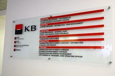 Informační tabule.