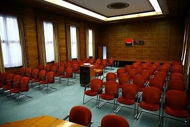 Velká zasedací místnost.