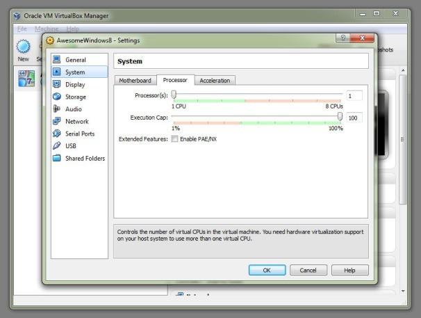 virtual box - virtualizace