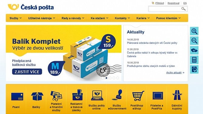 [aktualita] APEK: Česká pošta nerozváží zásilky a klame tak zákazníky