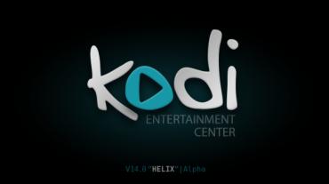 Multimediální centrum Kodi (pracovní návrh loga)