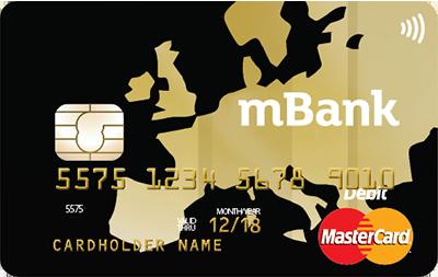 mBank zlatá karta