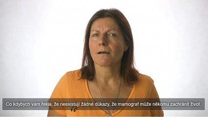 Vitalia.cz: Zveřejnila video proti mamografu. Není první