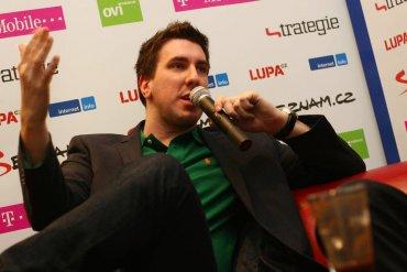 Tomáš Čupr na setkání NetClub v roce 2011.