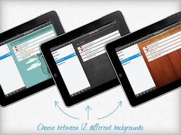 Wunderlist pro iPad