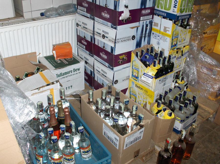 Podezřelý alkohol v Karlových Varech