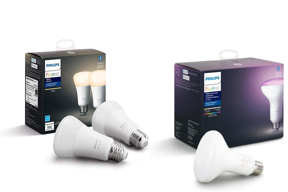 Nejnovější generace chytrých žárovek Philips Hue je možné ovládat přes Bluetooth, takže není potřeba žádný Philips Hue Bridge.