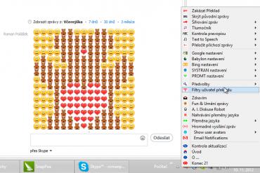 Clownfish slouží jako všestranný a originální doplněk pro Skype