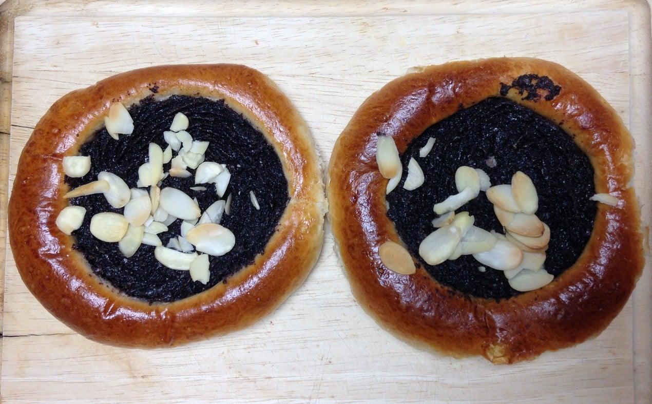 Makový koláč - Antonínovo pekařství, Praha 7, cena 22 Kč