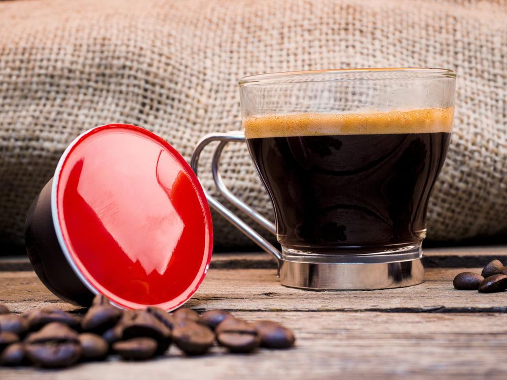 Recyklace kapslí od kávy