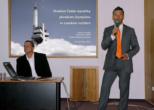 Kamil Levinský, generální ředitel Českých Radiokomunikací, prezentuje plány operátora pro nejbližší roky.