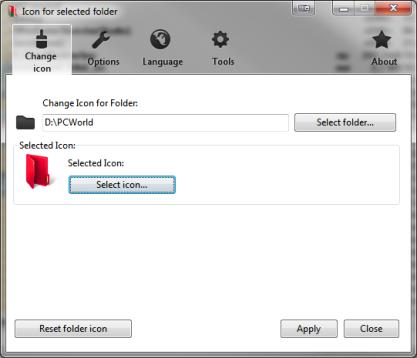 Pomocí Folderico změníte ikony ve Windows 7