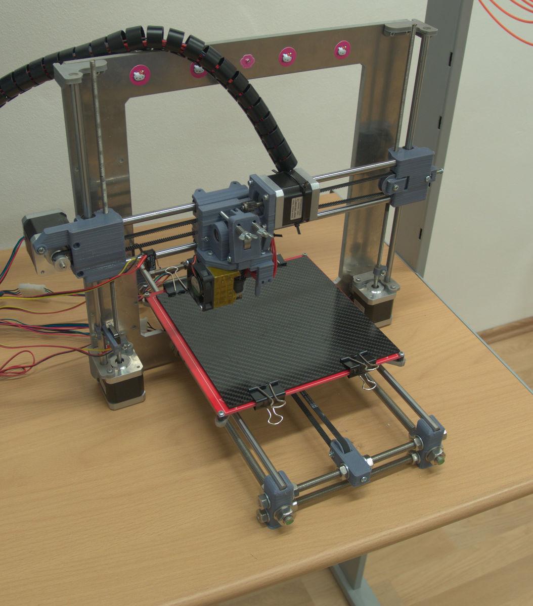 Konstrukce rámu 3D tiskárny