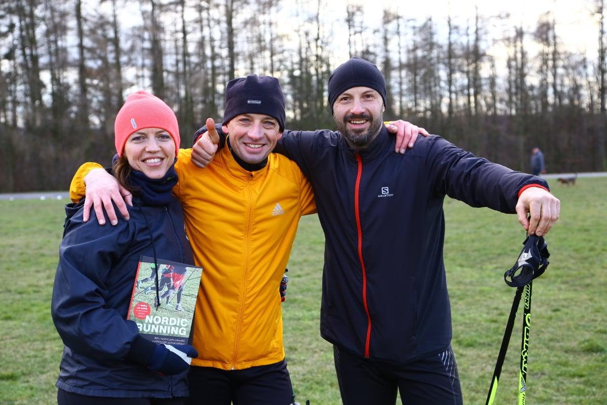 Nordic running snižuje zátěž