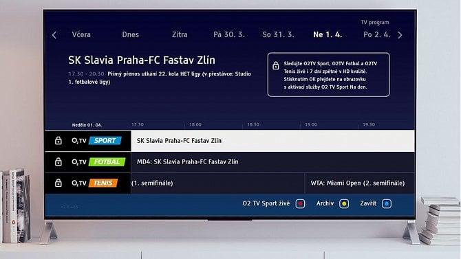 [aktualita] Prima bude ve své hybridní aplikaci nabízet přístup ke sportovnímu obsahu O2TV