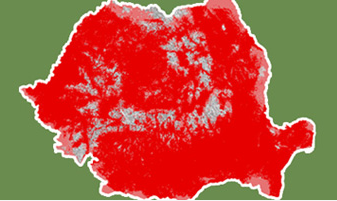 Rumunsko považujeme za zaostalou zemi, pokrytí 3G signálem místních operátorů mu ale můžeme závidět. I to je důsledek konkurenčního boje. Tmavě červená je pokrytí 3G, světle jen 2G.