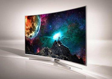 Prohnuté televizor se na stěnu umísťují špatně i když i u některých najdete na zadní straně otvory pro přidělání držáku (Samsung SUHD 9500).