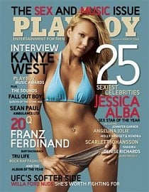 <p>&#160;Časopis Playboy, na jehož obálku se dostala spousta slavných osobností</p>