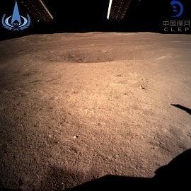 Čchang-e 4 na povrchu Měsíce