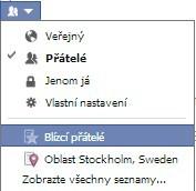facebook soukromí